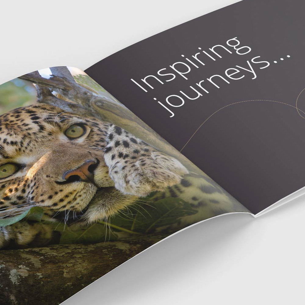 Africa & Beyond holiday brochure design